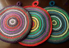 2014Potholders by pumpkinknits ~ free pattern