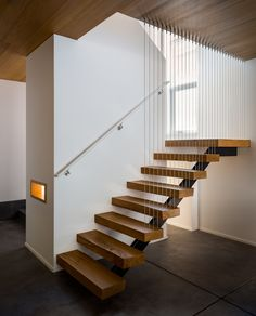Single Stringer Steel Stairs New Photos Luxury Wooden Stair Design Single Stringer Stair Buy Single Floating Staircase, Modern Staircase, Basement Inspiration, Basement Ideas, Steel Stairs, Take The Stairs, Architectural Photographers, Wooden Stairs, Prefab Homes