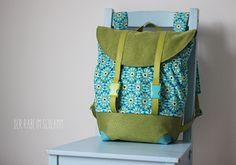 "Rucksack ""Pakke"" von Der Rabe im Schlamm: http://de.dawanda.com/product/92355975-schnittmuster-rucksack-pakke-pdf-ebook"