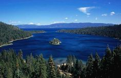 I love Tahoe! The sky is so clear on top of the mountains at night.