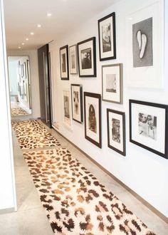 Leopard and black & white frames
