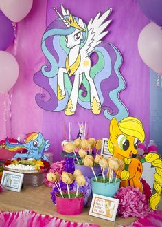 My Little Pony Birthday Party Ideas | Photo 2 of 18 | Catch My Party