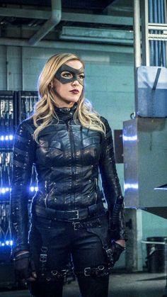 Katie Cassidy ✾ Arrow Tv Series, Cw Series, Supergirl 2015, Supergirl And Flash, Cassidy Black, Black Siren, Arrow Black Canary, Dinah Laurel Lance, Lance Black