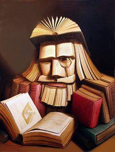 * Book Art * #ILEAD #dalinc http://pinterest.com/vampirerus777/%D3%9D-books-are-awesome-%D3%9D/