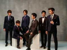 Shinhwa Makes Suits Look Good with Roygen