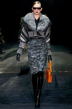 Gucci Fall 2011 Ready-to-Wear Fashion Show (separates/sans fur) (Giannini)