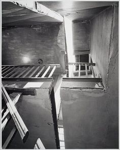 Gordon - Matta - by Iroquos Study Architecture, Light Architecture, Gordon Matta Clark, Nordic Lights, Body Photography, Four Corners, Deconstruction, Land Art, American Artists