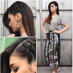 If you are looking for some new and trendy hairstyles to do, then this post is for you. Read the article and learn some amazing Kriti Sanon hairstyles. Saree Hairstyles, Open Hairstyles, Easy Hairstyles For Long Hair, Headband Hairstyles, Simple Hairstyle For Party, Debut Hairstyles, Quince Hairstyles, Easy Party Hairstyles, Homecoming Hairstyles