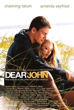 Capa do livro Querido John, autor: Nicholas Sparks Dear John Movie, Dear John 2010, Dear John Book, Dear John Nicholas Sparks, Nicholas Sparks Movies, Beau Film, See Movie, Movie Tv, Cher John