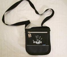 Mudd Handbag Purse Black Crossover Multi Functional Pockets    #Mudd #MessengerCrossBody