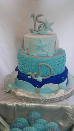 Under the Sea Sweet fifteen birthday party