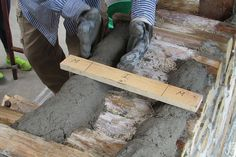 How do you know if your mortar beads are correct? Why with a M-I-M stick of course (mortar-insulation-mortar).