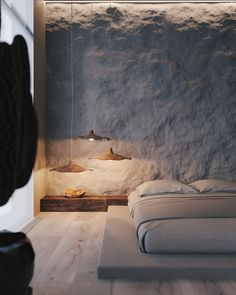 The Wabi Sabi Living Trend: What does Japanese aesthetics do?- Der Wabi Sabi Wohntrend: Was macht die japanische Ästhetik so reizvoll? The Wabi Sabi Living Trend: What makes Japanese aesthetics so appealing? Bedroom Design Inspiration, Interior Inspiration, Design Ideas, Design Design, Design Trends, Modern Design, Design Styles, Minimal Design, Decor Styles