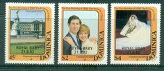 Dominica 1982 Charles & Diana Opt Royal Baby MUH