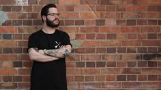 Bolderlines Apparel - Lone Wolf Tee Brisbane-based independent clothing. Tattoo inspired apparel.
