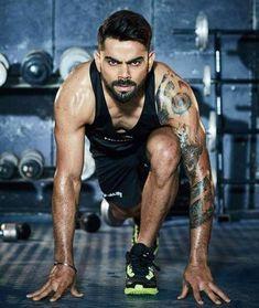 Virat Kohli Latest Workout Routine And Diet Plan - Health Yogi Virat Kohli Tattoo, Virat Kohli Instagram, Virat Kohli Wallpapers, India Cricket Team, Cricket Sport, Virat And Anushka, Fitness Icon, Fitness Blogs, Lunch Boxe
