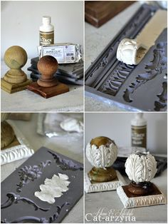 Cat-arzyna: 2017 Source by bNLbryant Cat-arzyna: This & That Diy Clay molded wooden appliqués for any refurbished project! Did craft 2017 Discover thousands of images about Use plaster of Paris Diy Clay, Clay Crafts, Crafts To Make, Arts And Crafts, Kids Crafts, Diy Plaster, Plaster Crafts, Clay Projects, Projects To Try