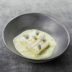 Turbot | Kohlrabi | Green herbs by @chefaandepoel picture by @maurice_fransen Tag your best plating pictures with #armyofchefs to get featured. #turbot #kohlrabi #herbs #steinbutt #kräuter #plating #chefs