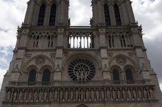 Trip to Paris 2012: Notre Dame de Paris facade