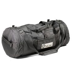 Travel Bag Black PU with brown trim. Total length width and height Loading takes place through a wide U-shaped opening. The main compartment has a volume of 40 liters, another 12 liter Barrel Bag, Brown Trim, Travel Bags, Gym Bag, Pens, Third, Black, Pockets, Big