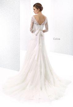COLVA wedding dress Cabotine