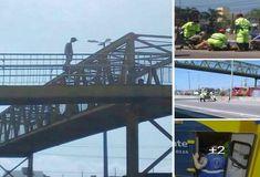 Um adolescente de 17 anos, subiu em uma passarela da BR-116, em Curitiba, na manhã da última terça-feira (06/02) com o intuito de cometer suicídio.
