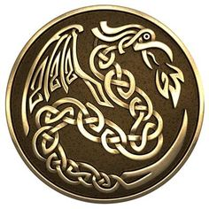 Celtic Dragon for the center instead of the lion