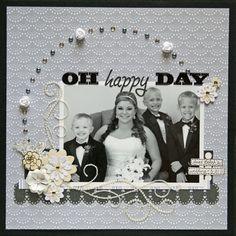 Wedding Scrapbook Layouts | ... scrapbook a wedding, scrapbooking page ideas, scrapbook page layouts