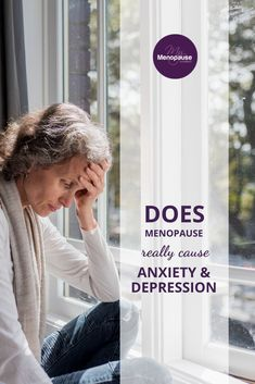 Anxiety and Depression in Menopause | Does menopause really trigger anxiety and depression? Find out what causes these symptoms during the menopausal transition and the many ways you can relieve it. Tools for depression and anxiety | Support for depression | How to manage anxiety and depression #MentalHealthMatters #SupportforAnxietyandDepression #AnxietyManagement Menopause Signs, Menopause Humor, Menopause Symptoms, Depression Support, Low Mood, Anxiety Treatment, Work Stress, Adrenal Fatigue