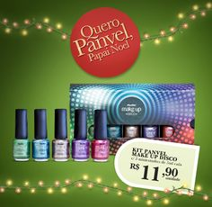 No Make It: Novidade de final de ano: Kit Panvel Make Up Disco!