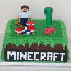 32+ Elegant Photo of Minecraft Birthday Cake Minecraft Birthday Cake Minecraft Cake With Steve #BestBirthdayCakes Minecraft Cake Toppers, Bolo Minecraft, Minecraft Birthday Cake, Minion Birthday, Minecraft Party, Minecraft Crochet, Minecraft Memes, Zombie Birthday Cakes, 10 Birthday Cake
