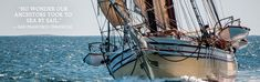 Take a windjammer cruise and see the beauty of midcoast Maine from ocean. http://www.sailmainecoast.com/