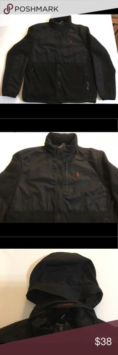 ✨SALE✨Polo by Ralph Lauren Polartec Classic Jacket Excellent condition! Polo by Ralph Lauren Polartec classic. Color: black with red pony. 100% polyester. Polo by Ralph Lauren Jackets & Coats