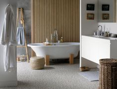 """""""Why move? Improve! – Bathroom Makeover"""" - Perk up your loo with a few simple updates that will make a big impact. www.karndeanblog.com"""