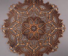 Timber laser cut wall mandala to lasersnijden, hout e Laser Art, 3d Laser, Laser Cut Wood, Laser Cutting, Laser Cutter Ideas, Laser Cutter Projects, Mandalas Painting, Mandalas Drawing, Wall Mandala
