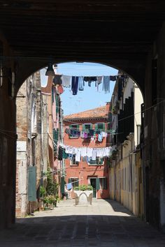 It's wash day on a scenic Venetian street. This is the perfect fine art photograph for your laundry room!  https://www.etsy.com/listing/386710136/behind-the-scenes-venice-photograph