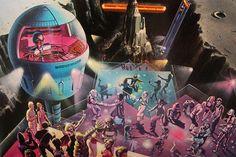 Future disco, robot DJ.