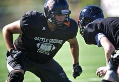 Battle Ground football preview: Big man steps into spotlight