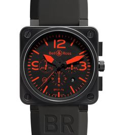 bell & ross - red instrument chrono!