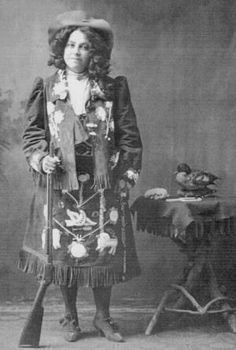 Louisa Stump-Newell (the wife of Louis Belmont Newell) - Iroquois - circa 1890