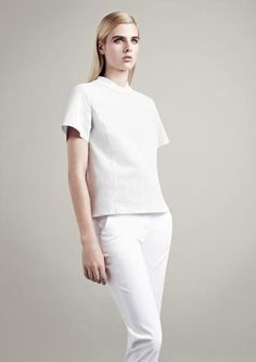 Key Fashion Trends 2013 All white  Go for a minimalist modern vibe with head-to-toe white. Just be sure to keep the drycleaner on speed-dial.