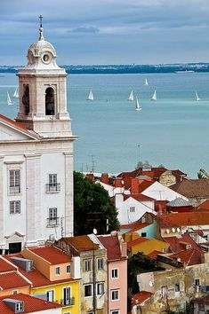 Lisbon, would love to travel through Spain and Portugal and end up in the algarve Places Around The World, Oh The Places You'll Go, Travel Around The World, Places To Travel, Places To Visit, Around The Worlds, Wonderful Places, Great Places, Beautiful Places