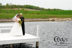 Bride and Groom at SoSerene in Wapakoneta, Ohio - Are you or someone you know getting married in 2013 in Ohio, check out Cindy's Photography for an experienced and affordable wedding photographer