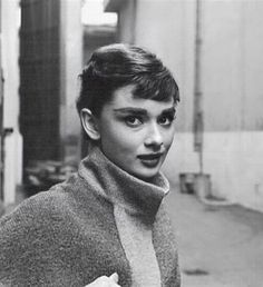 Audrey Hepburn fotografiada por Mark Shaw, 1953