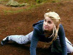 Rosalie in fight practice against Jasper in Eclipse.