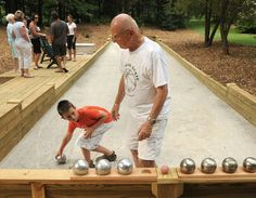 backyard bocce court - Google Search