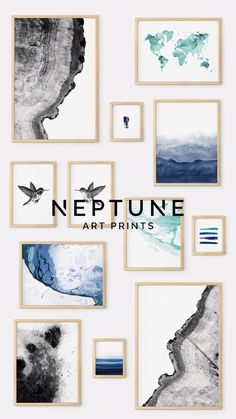 Printable Wall Art by Neptune Art Prints,Printable art is an easy and affordable way to personalize your home or office. You can print from home, your local print shop, or upload the files to. 3 Piece Wall Art, Diy Wall Art, Home Decor Wall Art, Wall Art For Bathroom, Diy Framed Art, Green Wall Decor, Cheap Wall Decor, Free Art Prints, Wall Art Prints