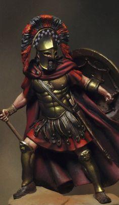 Guerreiro espartano (Spartan warrior)