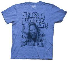 Big Lebowski - That's A Bummer Man - Large T-Shirt | eBay