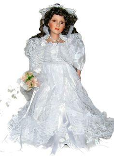 Bride Porcelain Doll-Stunning Bride doll-Porcelain Bride Doll-Kaylee